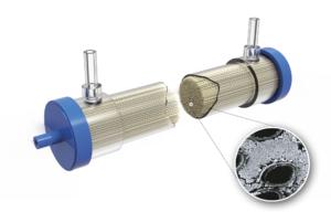 Hollow fiber bioreactor image
