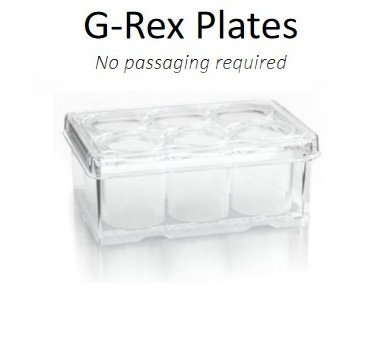 G-Rex Plates are ideal for monoclonal antibody development